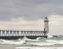 Manistee-Leuchtturm Lizenzfreie Stockfotografie