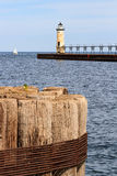 Manistee Lighthouse Royalty Free Stock Photography