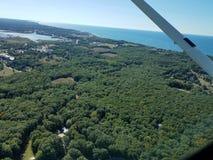 Manistee, paisaje de Michigan Fotos de archivo