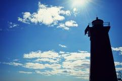 Manistique-Leuchtturm stockbilder
