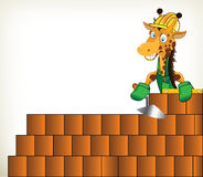 Manitas Giraffe ilustración del vector