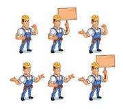 Manitas Mascot ilustración del vector