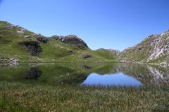 Manito jezioro - Montenegro Zdjęcia Stock