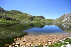Manito sjö - Montenegro Arkivbild