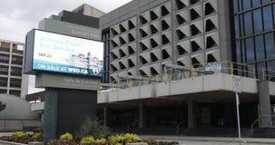 Manitoba Centennial Center Concert Hall em Winnipeg, Canadá 4K video estoque