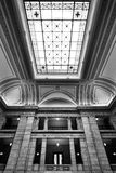Manitoba lagstiftnings- byggnad fotografering för bildbyråer