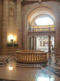 Manitoba lagstiftnings- byggnad i Winnipeg royaltyfria foton