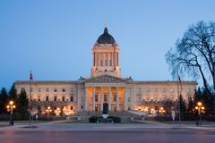 Manitoba Legislative Building Stock Image
