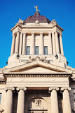Manitoba Legislative Building in Winnipeg Royalty Free Stock Photo
