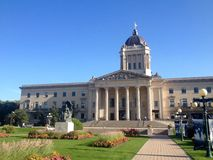 Manitoba Legislative Building in Winnipeg Royalty Free Stock Photography