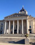 Manitoba Legislative Building in Winnipeg Royalty Free Stock Images