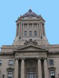 manitoba parlament Royaltyfri Fotografi