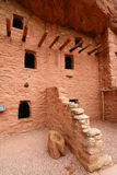 Manitou Cliff Dwellings. The Manitou Cliff Dwellings are a rare historical treasure. Preserved under a protective red sandstone overhang, authentic Anasazi cliff Stock Image