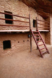 Manitou Cliff Dwellings. The Manitou Cliff Dwellings are a rare historical treasure. Preserved under a protective red sandstone overhang, authentic Anasazi cliff Stock Photography