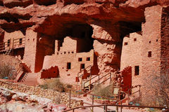 Manitou Cliff Dwellings. In Manitou Springs, Colorado Stock Photo