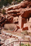 Manitou Cliff Dwellings. In Manitou Springs, Colorado Royalty Free Stock Photos