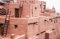 Manitou Cliff Dwellings. Of ancient ruins of the Anasazi people. in Colorado Springs Stock Photography