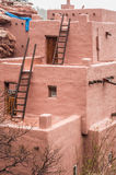 Manitou Cliff Dwellings. Of ancient ruins of the Anasazi people. in Colorado Springs Stock Image