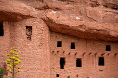 Manitou Cliff Dwellings. In Colorado Springs Royalty Free Stock Photography