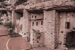 Manitou Colorado Cliff Dwellings Royalty Free Stock Images