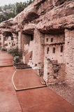 Manitou Colorado Cliff Dwellings. Located just outside of Colorado Springs / Manitou Springs. Ancient Native American Indian Cliff Dwellings in the Southwest Royalty Free Stock Photo