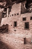 Manitou Colorado Cliff Dwellings. Located just outside of Colorado Springs / Manitou Springs. Ancient Native American Indian Cliff Dwellings in the Southwest Stock Photo