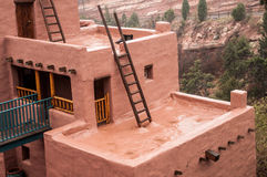Manitou Colorado Cliff Dwellings Museum. Museum found at the Manitou Colorado Cliff Dwellings located just outside of Colorado Springs / Manitou Springs. Ancient Stock Image