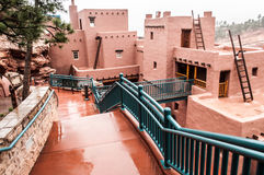 Manitou Colorado Cliff Dwellings Museum. Museum found at the Manitou Colorado Cliff Dwellings located just outside of Colorado Springs / Manitou Springs. Ancient Royalty Free Stock Images