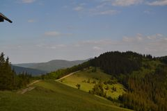 Manitou Frühlinge, Kolorado USA stockfotografie