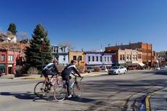 Manitou Springs in Colorado royalty free stock photo