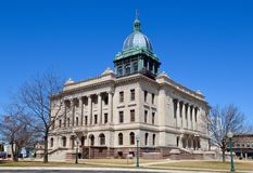 Manitowoc County Courthouse Royalty Free Stock Images