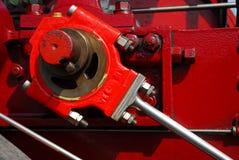 Manivela do motor de vapor imagens de stock