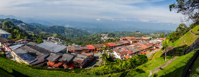 Manizales city in Colombia Royalty Free Stock Image