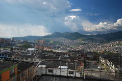 Manizales Colômbia - distrito do café Foto de Stock Royalty Free