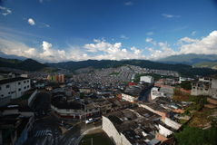 Manizales Colombia - Coffee district zona cafetera Stock Photography