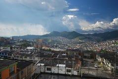 Manizales Colombia - koffiedistrict royalty-vrije stock foto