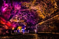 Manjanggul Lava Tube - Jeju Island stock photography