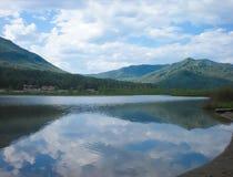 Manjerok o lago Fotografia de Stock