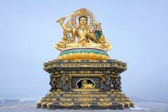 Manjusri statue Stock Images
