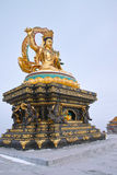 Manjusri statue Stock Image