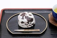 Manjyu japonés de Fubuki de la confitería fotos de archivo
