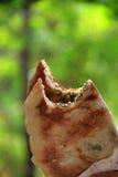 Mankousheh, Libanees Ontbijt Stock Afbeeldingen