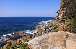 Manley beach and North Head Royalty Free Stock Photo