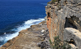 Manley beach and North Head Stock Image