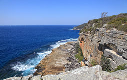 Manley beach and North Head Royalty Free Stock Image