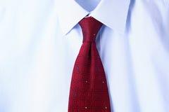 Manlig bakgrund för skjorta och för band Fotografering för Bildbyråer