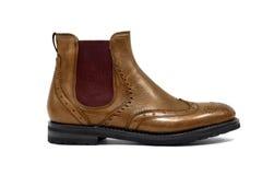 Manlig footwear-41 Fotografering för Bildbyråer