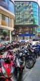 Manlig gata Ramadan ber tid royaltyfria foton