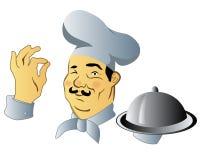 Manlig kock Arkivbild