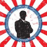 Manlig politisk kandidat vektor illustrationer